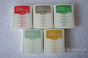 In Color 2015-2017 Stampin' Up! Neue Farben