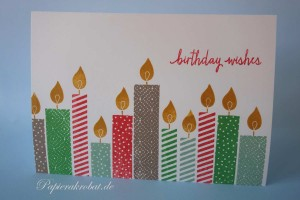 Build a Birthday stampin up