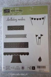 Build a Birthday Stampin' Up