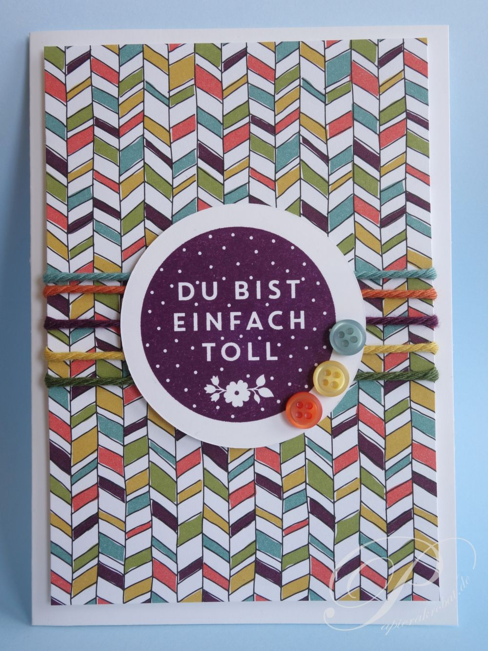 Das Besondere an Stampin' Up! Farben - Papierakrobat.de