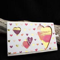 liebevoll verpackt, schachtel voller liebe, lots to love box framelits, für Schatz-Karten Stampin Up